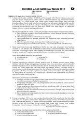 latihan 4 ujian nasional tahun 2012-bahasa ... - jidut08chayank