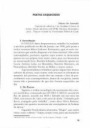 Poetas Esquecidos SÂNZIO DE AZEVEDO - Portal da História do ...