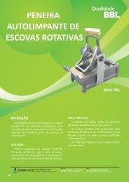 Catálogo Peneira AutoLimpante - PAL.cdr - Bombas Beto