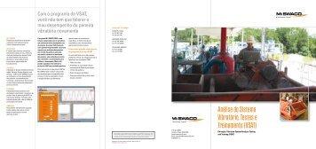 Análise do Sistema Vibratório, Testes e Treinamento (VSAT)