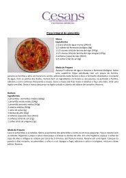 Pizza de pimentão - Codeagro