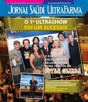 JOVEM GUARDA - Jornal Saúde UltraFarma