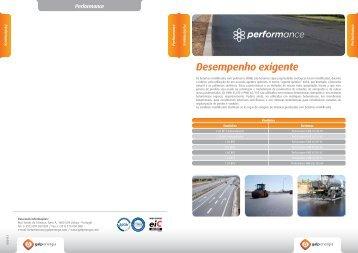Linha de produtos Performance - Galp Energia