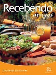 Fascículo de Receitas – Recebendo os amigos - Nestlé
