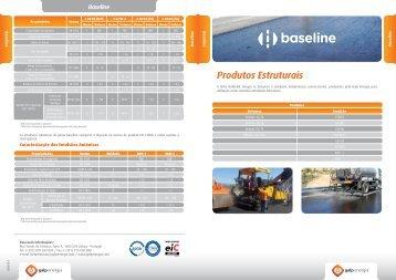 Linha de produtos Baseline - Galp Energia