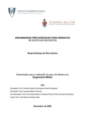 Dissertação para obtenção do grau de Mestre em ... - APFAC