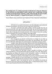 Novo Código Civil: A constitucionalização do Direito Civil, influindo ...