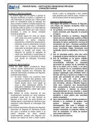 PENHOR RURAL – INSTITUIÇÕES ... - Marítima Seguros