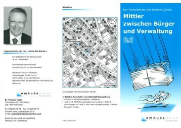 Flyer Ombudsmann - Glattfelden