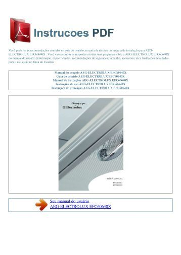 Bg bc 41 instrucoes pdf manual de instru es for Manual de acuicultura pdf