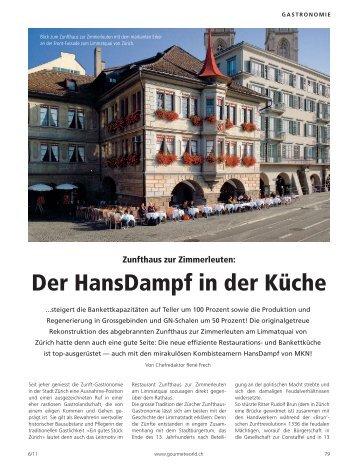 Der HansDampf in der Küche - wiba-ag.ch Home