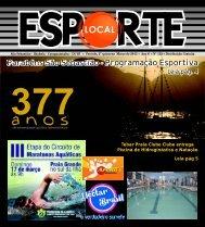 Edição 133 ( Completa em PDF ) - Jornal Esporte Local