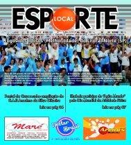 Esporte Local nº edição 134 - Jornal Esporte Local