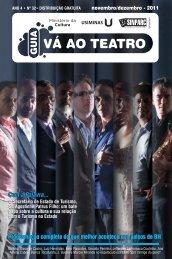 guia vá ao teatro - novembro 2011 - Sinparc