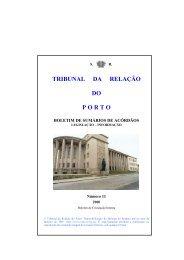 Boletim n.º 11 - Tribunal da Relação do Porto