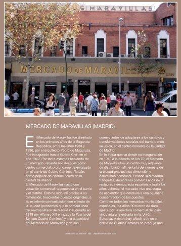 MERCADO DE MARAVILLAS (MADRID) - Mercados Municipales