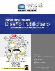Diseño Publicitario - Escuela de Artes y Letras