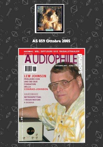 Lew Johnson di Conrad-Johnson - Audiophile Sound