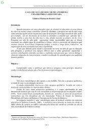 A SALA DE AULA DO EDUCAR PELA PESQUISA ... - Fep.if.usp.br