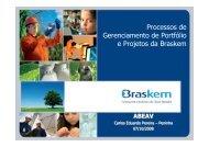 gerenciamento de portifólio e de projetos da braskem - assender