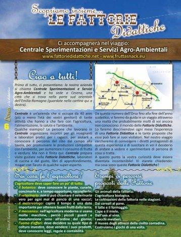 L'ORSA - settembre 2008 - Fattorie Didattiche
