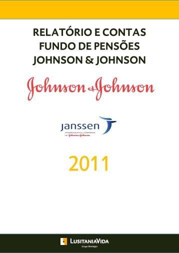relatório e contas fundo de pensões johnson ... - Escrita Digital