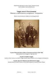 Estratti di un diario di un emigrante ticinese - Repubblica e Cantone ...