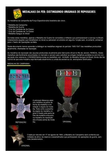 medalhas da feb - Front Antiguidades Militares