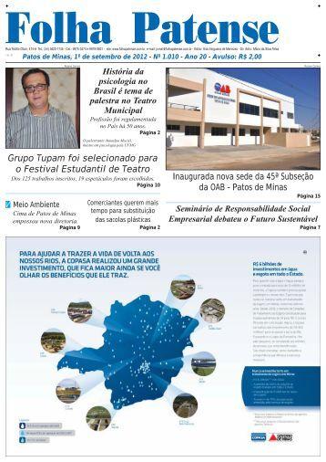 nº 1010 - Folha Patense