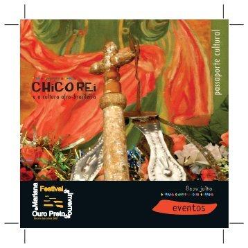 a julho - Festival de Inverno de Ouro Preto e Mariana - Ufop