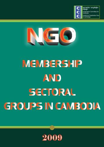 New Directory of sector 2009 - Cooperation Committee for Cambodia