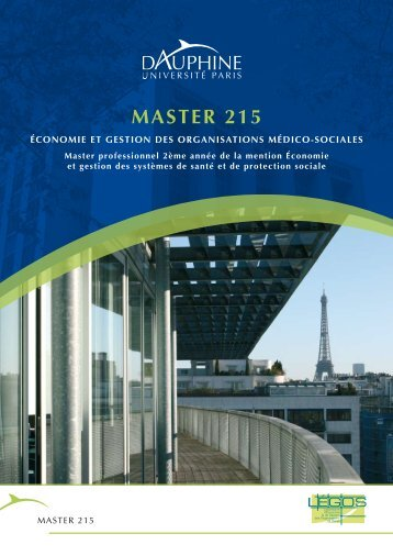 Master 215 - Université Paris-Dauphine