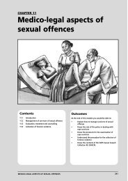 Medico-legal aspects of sexual offences