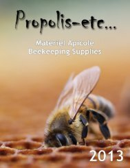 Catalogue / Catalog 2013 - Propolis-etc