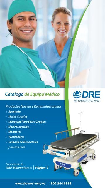 Catalogo de Equipo Médico