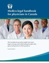 Medico-Legal Handbook 2011