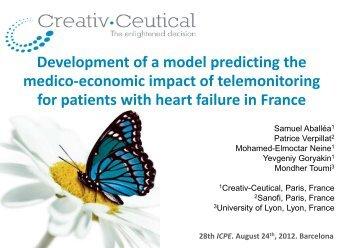 Development of a model predicting the medico-economic impact of ...