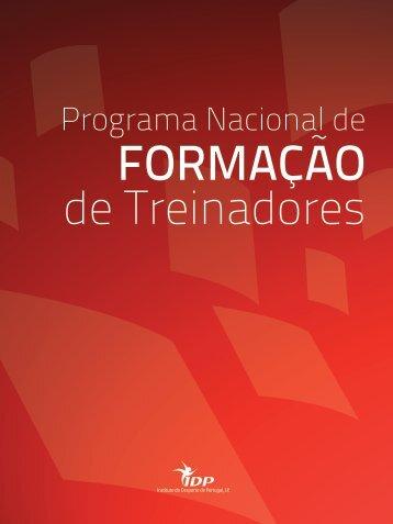 FORMAÇÃO - Instituto do Desporto de Portugal