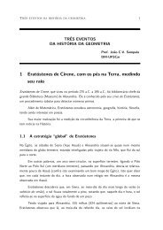 1 Erat¶ostenes de Cirene, com os p¶es na Terra, medindo ... - UFSCar