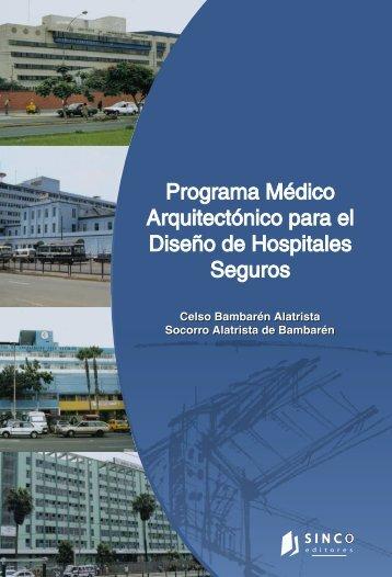 Programa Médico Arquitectónico para el Diseño de Hospitales - dgdif
