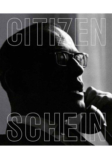 Citizen Schein, 2:a utgåvan, del 1 - Kungliga biblioteket