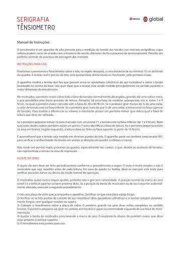 Manual de Instruções (PDF)
