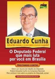 O Deputado Federal que mais luta por você em ... - Eduardo Cunha