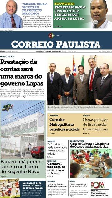 Carnaval - Correio Paulista