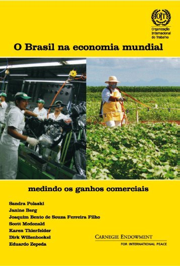 O Brasil na economia mundial: medindo os ganhos - Carnegie ...