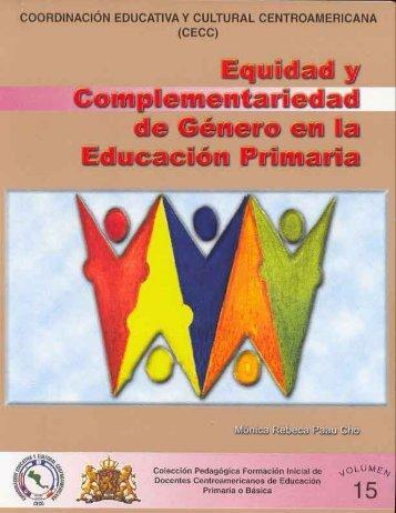 Equidad y Complementariedad de Género en la Educación Primaria