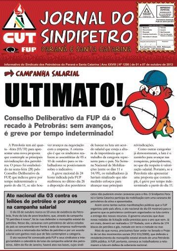 Jornal Sindipetro 1290.cdr - Sindipetro PR/SC
