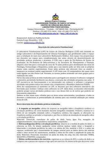 Carta inicio funcionamento Fisiofuncional - Laboratório ...