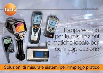 L'apparecchio per le misurazioni climatiche ideale per ogni - Testo AG