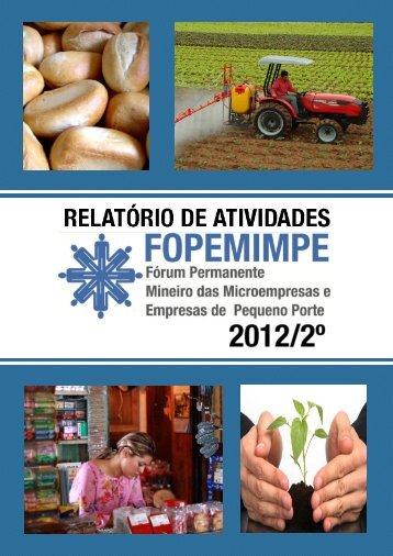 Relatório de Atividades FOPEMIMPE - Conselho Regional de ...